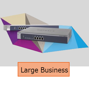 Large Businesses Router Installation Services
