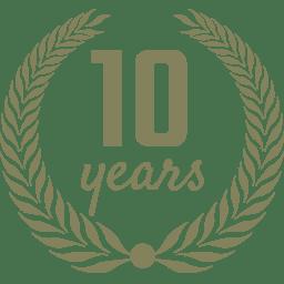 Ten Year Anniversary Logo
