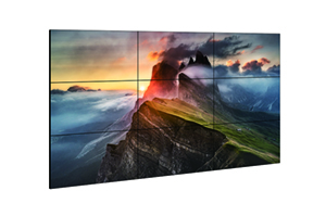 digital signage screens video wall 3x3