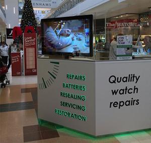 digital signage screen shopping center
