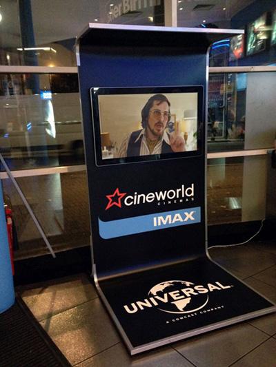 digital signage screen cinema