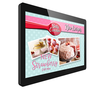 digital signage screen pos