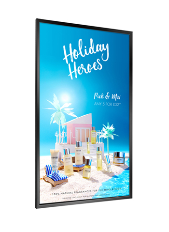 digital signage screen ultra high brightness