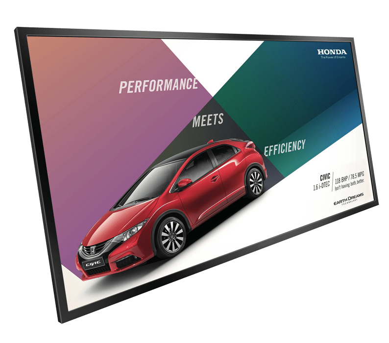 large Digital Signage Screen