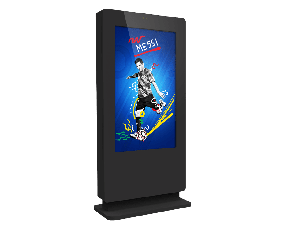 digital signage water proof ip rated