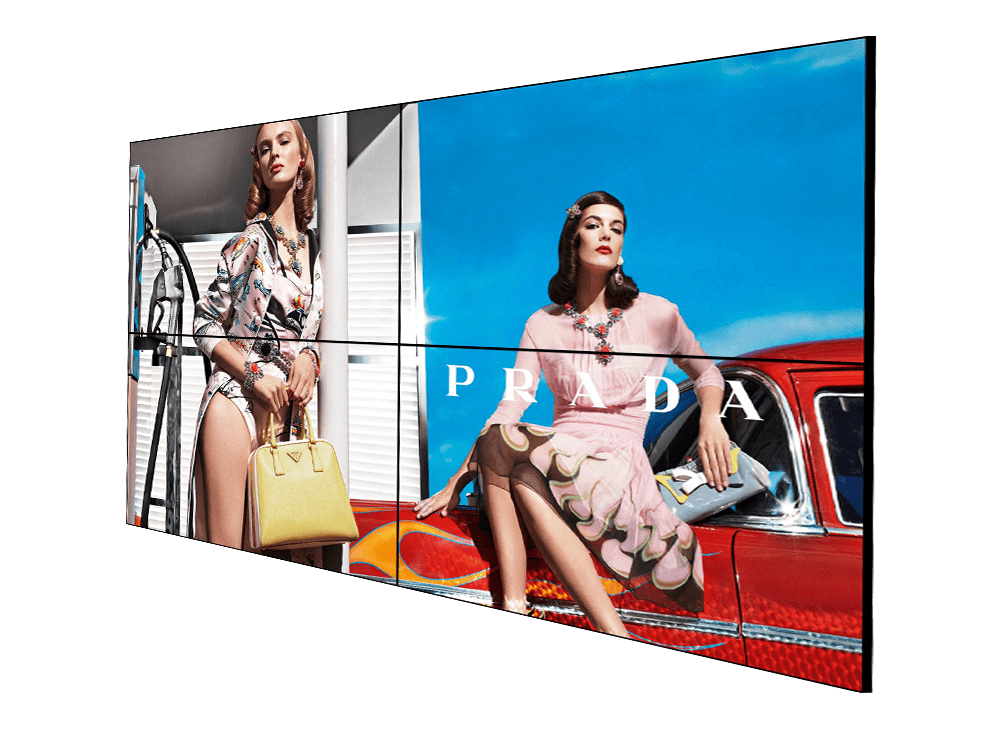 seamless video wall ultra narrow bezel