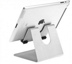 Akimbo display for tablets - Silver