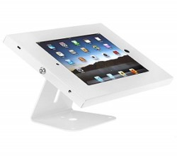 SecureDOCK UNO Desk Display for iPad 2,3,4 & Air – White