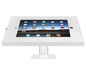 SecureDOCK UNO Desk Tilt for iPad 2,3,4 & Air – White