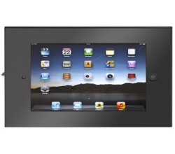 SecureDOCK UNO Flat to Wall for iPad 2,3,4 & Air – Black