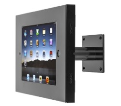 SecureDOCK UNO Wall Tilt for iPad 2,3,4 & Air – Black