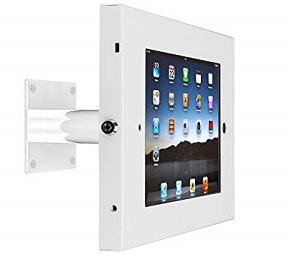 SecureDOCK UNO Wall Tilt for iPad 2,3,4 & Air – White