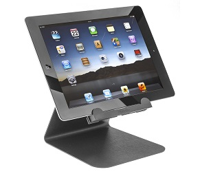 Akimbo display for tablets